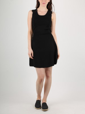 Šaty Superdry ALINA LACE KNITTED DRESS Černá