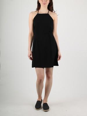 Šaty Superdry SASHA LACE DRESS Černá
