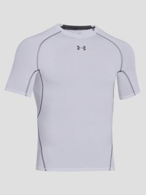 Kompresní tričko Under Armour HG SS Bílá