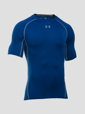 Kompresní tričko Under Armour HG SS Šedá