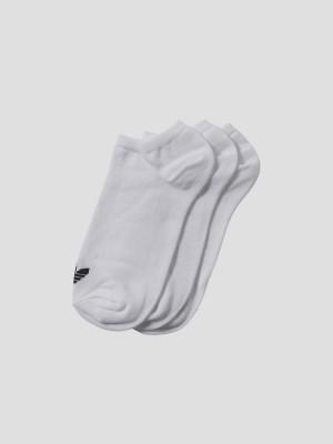 Ponožky adidas Originals TREFOIL LINER Bílá