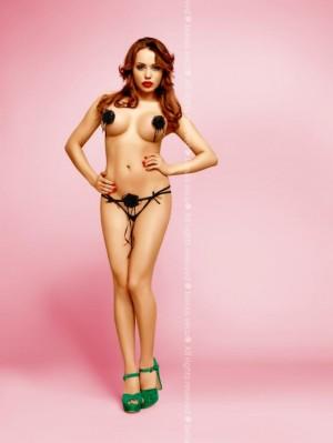 Erotická tanga Odille black černá L/XL
