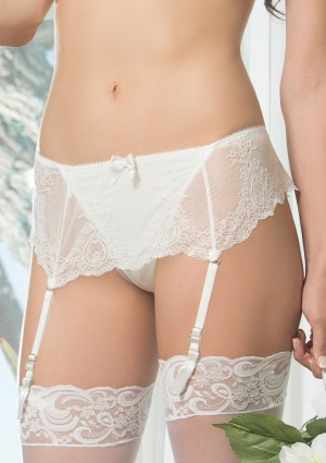 Dámské kalhotky Affinitas Pearl A1044 Ivory L Ivory