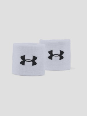 Potítka Under Armour Performance Wristbands Bílá