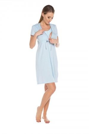 Dámská kojící košile Felicita blue světle modrá