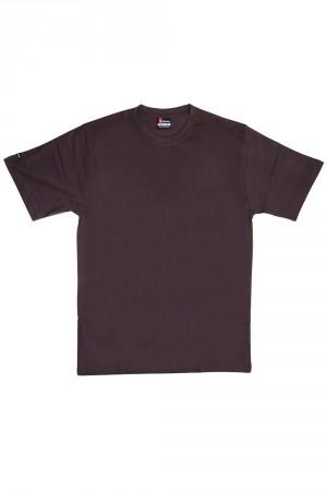 Pánské tričko 19407 brown hnědá