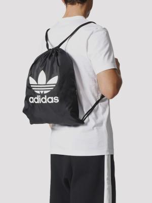 Sáček adidas Originals GYMSACK TREFOIL Černá