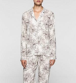 Dámské pyžamo vrch.díl  QS1678E -   Calvin Klein
