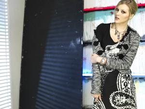 Dámské šaty R3346 - Roberto Naldi