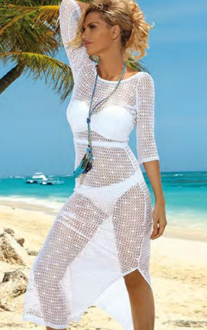 Dámské plážové šaty D49 Self