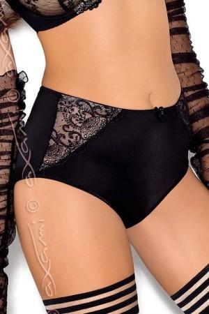 Dámské kalhotky V-5056 ORCHID černá 3XL