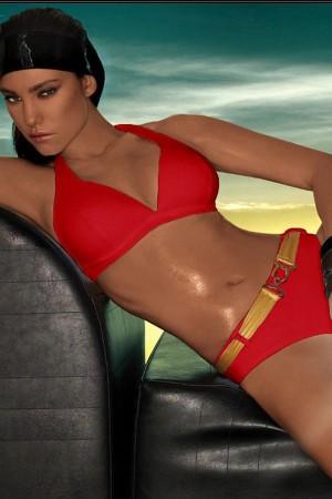 Dvoudílné plavky  model 50299 Demi Saison