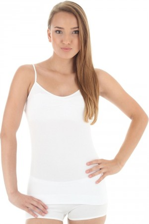Dámská košilka CM 00210 Camisole white bílá