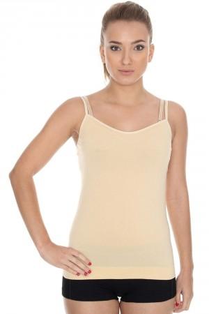 Dámská košilka CM 00210 Camisole beige béžová