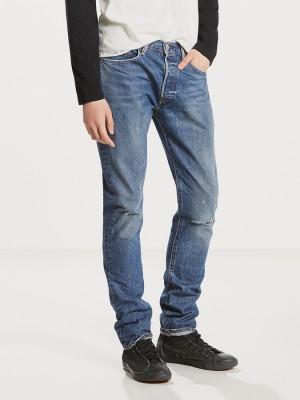 Džíny LEVI'S 501 Skinny Fizzy Modrá