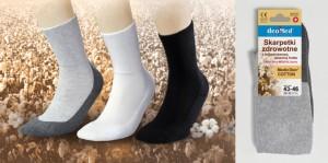 Zdravotní frotté ponožky DEO COTTON - JJW DEOMED