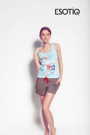 Esotiq Marisa 31231 -50X Dámské pyžamo L jako na fotografii