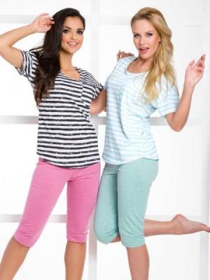 Taro Rebeka 2072 SS/17 K2 Mátové Dámské pyžamo S mátová