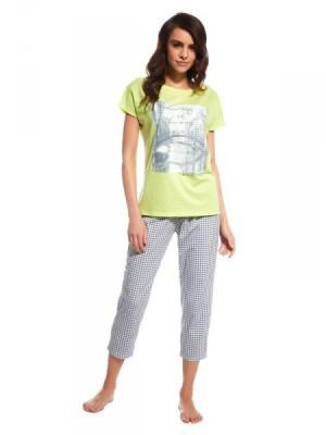 Cornette Venice 670/96 Dámské pyžamo L zelená