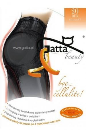 Gatta Bye Cellulite Punčochové Kalhoty 20 DEN 4-L grafit