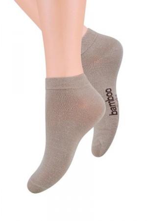 Steven 094 Pánské ponožky 44-46 Len