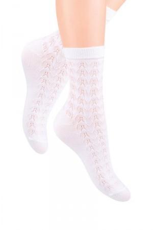 Steven 090 Dámské ponožky 38-40 černá