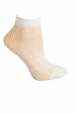 Sesto Senso Sempre bianco Ponožky One size bílá