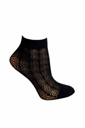 Sesto Senso Sempre nero Ponožky One size černá