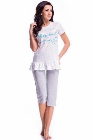 Dobranocka PM.7020 Dámské pyžamo L mint