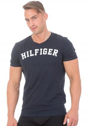 Pánské tričko Tommy Hilfiger UM0UM00054 L Bílá
