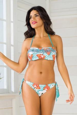 Dámské dvoudílné plavky Vacanze Luxury Garden II s kosticemi