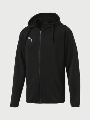 Mikina Puma LIGA Casual Hoody Jacket Černá