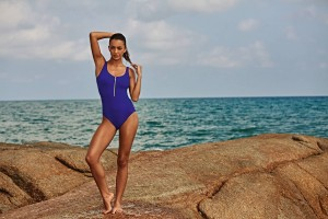 Jednodílné plavky Elouise L8 7742 - Anita Velikost do filtru: 36C, Barva Anita: modro-fialová (329)