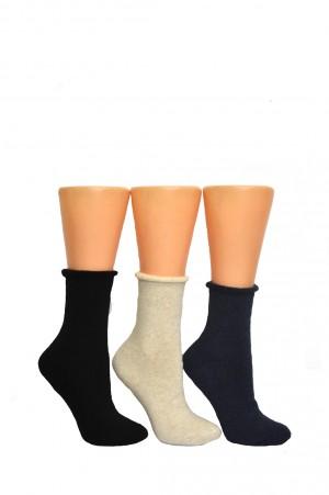 Dámské ponožky Bratex Women Półfrote 037
