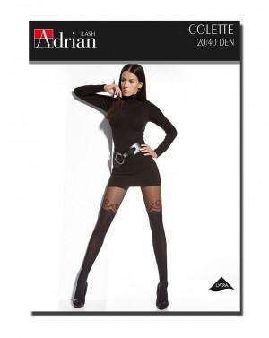 Punčochové kalhoty Adrian Colette 20/40 den 6-XXL