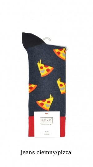 Pánské ponožky Soxo Good Stuff  Wzór