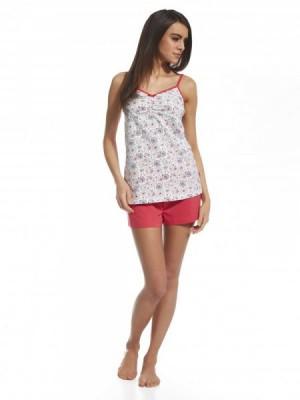 Cornette Summer Time 3 660/109 Dámské pyžamo L vícebarevná