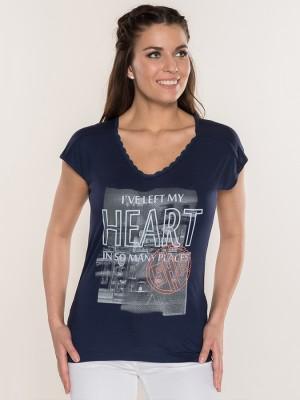 Tričko SAM 73 MELENA Modrá
