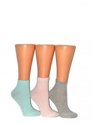 Dámské ponožky WK Premium Sox Lurex art.36924