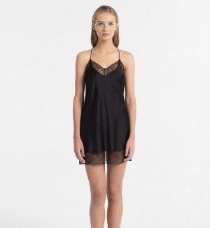 Dámská noční košilka QS5861E - Calvin Klein