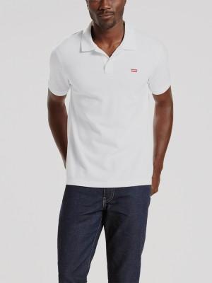 Tričko LEVI'S Housemark Polo Bright White Barevná