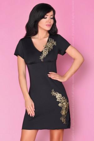 Okouzlující košilka Medea - LivCo Corsetti S/M Černá