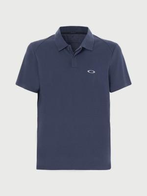 Tričko Oakley Link Ss Polo Modrá