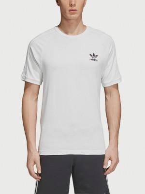 Tričko adidas Originals 3-Stripes Tee Bílá