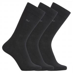 Ponožky vysoké 3 páry 8170-80-900 černá - CR7 Velikost do filtru: , Barva EM Lingerie: černá (900)