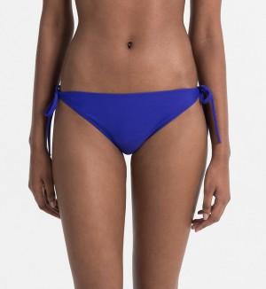 Spodní díl plavek KW0KW00085-038 modrá - Calvin Klein