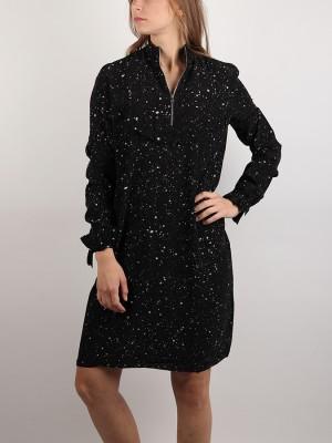 Šaty Replay W9353 Kleid Černá