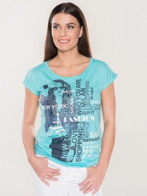 Tričko SAM 73 WT750 Modrá