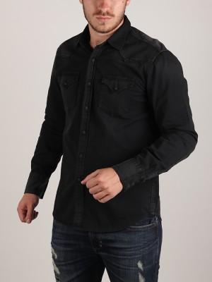 Košile Replay M4860Z Hemd Černá