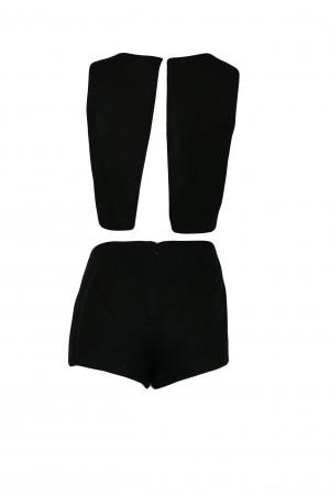 Plážové šaty Cut Out Romper KW0KW00380 - Calvin Klein